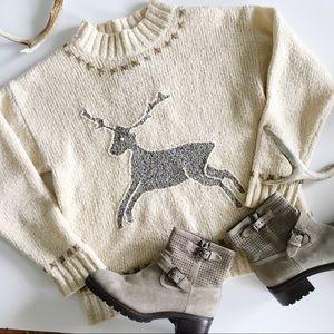 Vintage Deer 🦌 Sweater